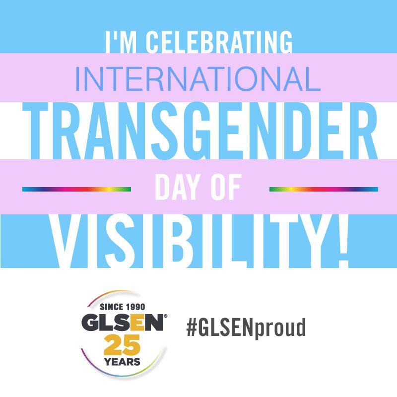 Happy International Transgender Day of Visibility! Wherever you are in your journey, we're here for you! http://t.co/VW9ud7QjvB