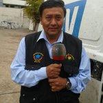 """""""No es una provocación"""" dijo a @adnradiochile el ministro boliviano sobre chaqueta con mensaje """"el mar es de Bolivia"""" http://t.co/AUxHylDn3c"""
