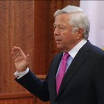 AT NOON: Robert Kraft says #AaronHernandez told him he was at a club at time of murder. #WCVB #HernandezTrial http://t.co/bRPf1SV5HL