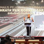 Hari ini, saya telah melancarkan projek pembinaan Lebuhraya Pan Borneo... http://t.co/v6kcWDnRrn http://t.co/NIv2O2qCno