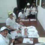 Equipo de Turismo preparados para salir al peaje del Puente Angostura. Bienvenida temporadista. Semana Santa 2015. http://t.co/sYr5ayXI83