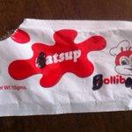 """@kennyGranado: ketchup sa jollibee HAHAHAHA! http://t.co/wySV1KFVib"""