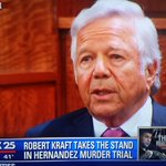 """Robert Kraft says Hernandez told him he was innocent, not involved in the """"incident,"""" and was at a club. http://t.co/crc35htbD2"""