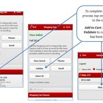 """MyRED Mobile course registration 4 easy steps! Load courses in cart, check courses, validate, and """"okay"""". #unl http://t.co/wQlpvqxgmr"""