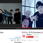 EXO YouTube Views Record: Call Me Baby (2,000,000 in 10 hrs) Overdose (2,000,000 in 20 hrs) http://t.co/6iFG9COoUu http://t.co/4KSYoToTpk