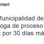 Municipalidad de Copiapó anunció prórroga de proceso para pagar permisos de circulación por 30 días más http://t.co/zCNNwVZQtn