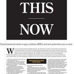 Front Page of the Indianapolis Star. Way to go, Hoosiers! Lets put this behind all of us with civil rights protect… http://t.co/BaUeqtbgs2