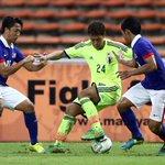 【結果速報】リオ五輪最終予選進出が決定…U-22日本代表が久保のゴールで3連勝 http://t.co/F8BsUM3zfP AFC U-23選手権2016予選でU-22日本代表はU-22マレーシア代表と対戦しました。 #daihyo http://t.co/0RoouJ2mRy