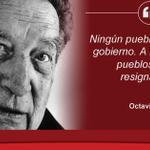 Un día como hoy de 1914 nació Octavio Paz, aquí 100 de sus frases http://t.co/ypAp7CCSsk http://t.co/F5iWADVKZS