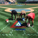 CAUTION: Wet paint. #ItStarts #LetsGo #Angels http://t.co/ZieEDiJks1