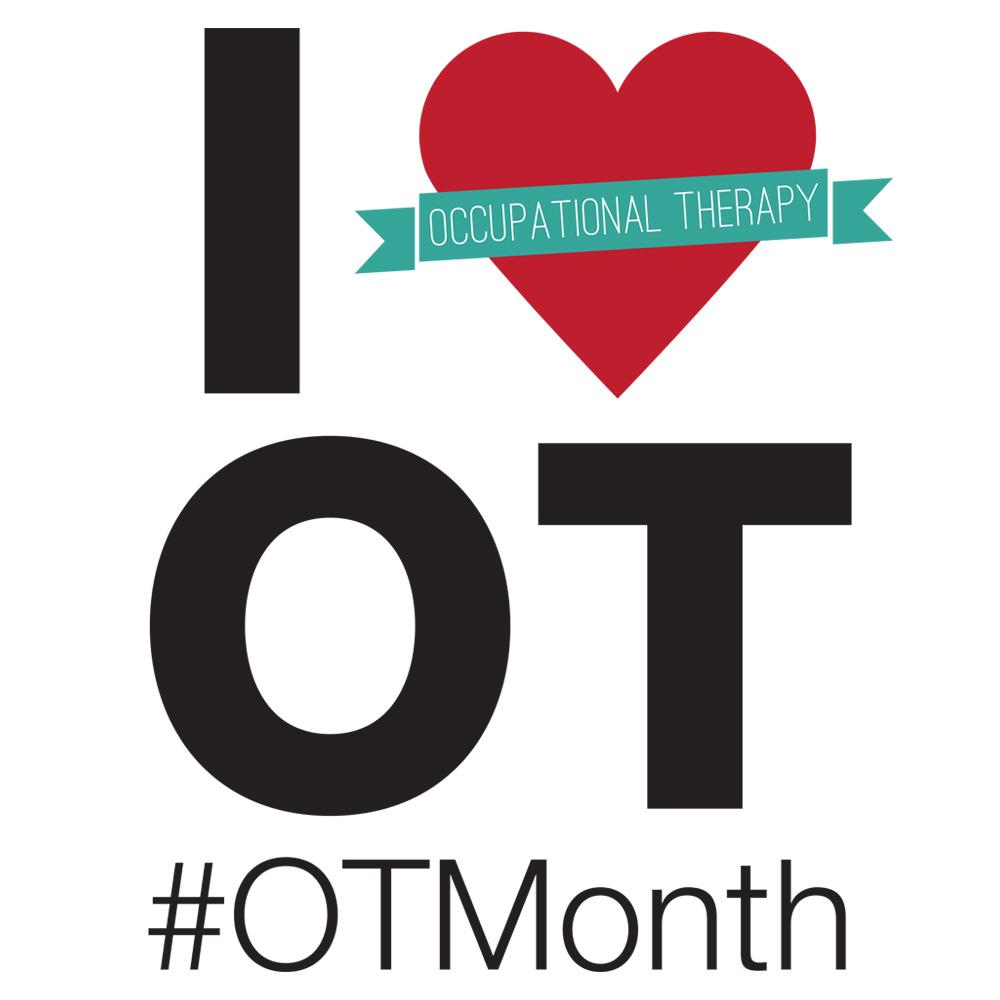 Show the world you love #occupationaltherapy by sharing this image. #OTMonth starts tomorrow! http://t.co/xethHdcL9E