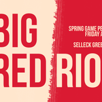 BIG RED RIOT Spring Game Pep Rally  Coach Appearances Free Food, Prizes Games, Inflatables and more  Football is BACK http://t.co/8YTUB72X1w