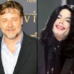 """Russell Crowe: Michael Jackson prank called me all the time, even though """"I never met him."""" http://t.co/PgSN03GWJr http://t.co/IpO25oZF5l"""