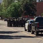 #Fresno SWAT officers cluster on Mariposa Street in wake of shooting at medical office in downtown. http://t.co/AMjMF5EPJM