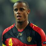 Vincent Kompany has been sent off for Belgium. http://t.co/IW4jmETwHS