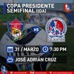 Olimpia buscara pegar primero en el partido de ida de la semifinal esta noche en el José Adrián Cruz. ¡Vamos Leones! http://t.co/GBav7gL22Y