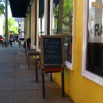 Tricera Coffee celebrates first day with free drinks. #chseats http://t.co/GRabo45ATK http://t.co/ySeO5Kekdn