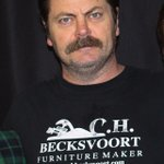 Parks and Recreation star Nick Offerman performed at Broken Citys comedy night last night. Was in #yyc filming Fargo http://t.co/nQn5yVbJy4