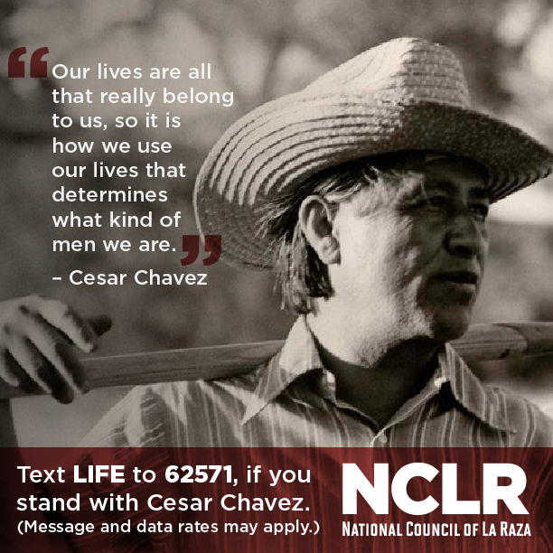 Happy #CesarChavezDay! Take the pledge promising to live a life with meaning: http://t.co/nA5QCvgzvd http://t.co/ZESBUqLDue