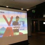 """Barcamp @TVT_Innovation """"Accélérateur Mode dEmploi"""". @missv4l @numaparis is on! http://t.co/RMcAg5qZZI"""