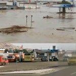 Este es el antes y después del paso del destructor aluvión en Chañaral. http://t.co/eZDm8T0T5y http://t.co/59r40J0ScD