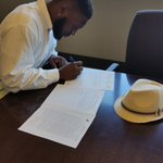 Pleased to announce that client Justin Oxendine has signed with the Winnipeg Blue Bombers of the CFL! http://t.co/VqpsXk9VbF