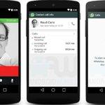 WhatsApp libera chamada de voz para todos com Android. iPhone continua sem. http://t.co/cptMx4KGxW http://t.co/So28tNJXL2