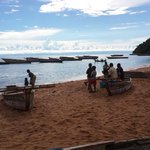 Fishery in the Kigoma region on the shores of Lake Tanganyika: catch it, dry it, sell it. http://t.co/BRc7WbQrmp