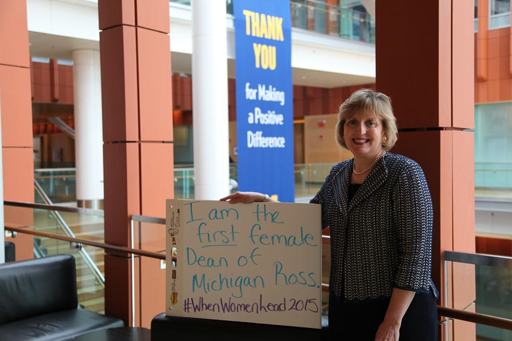 "Ross Dean Alison Davis-Blake wants to know: ""What will you be the first to do?"" #WhenWomenLead http://t.co/I6GGwXupdb"