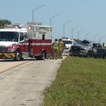 All lanes open NB and SB on 95 in Martin Co after these vehicles rolled over @WPTV @MartinFLSheriff http://t.co/YGymYbZfEA