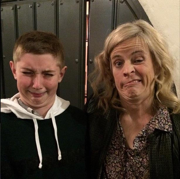 @mariabamfoo I will always treasure this picture of you with my kid @Jakesunt at your Santa Barbara show http://t.co/fnUasSecam