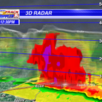 This storm between Bryant and Shanon Hills is still impressive, but isolated. #arwx http://t.co/BKGeQjZWJ7