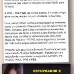 Comissão aprova redução da maioridade penal / Liana Friedenbach / PSOL, PT, PPS, PCdoB e Maria do Rosário. http://t.co/gMP2b5owUG