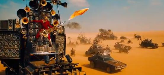La guitare lance-flamme de Mad Max Fury Road > le sabre-laser de The Force Awakens http://t.co/JyeQepVq8i