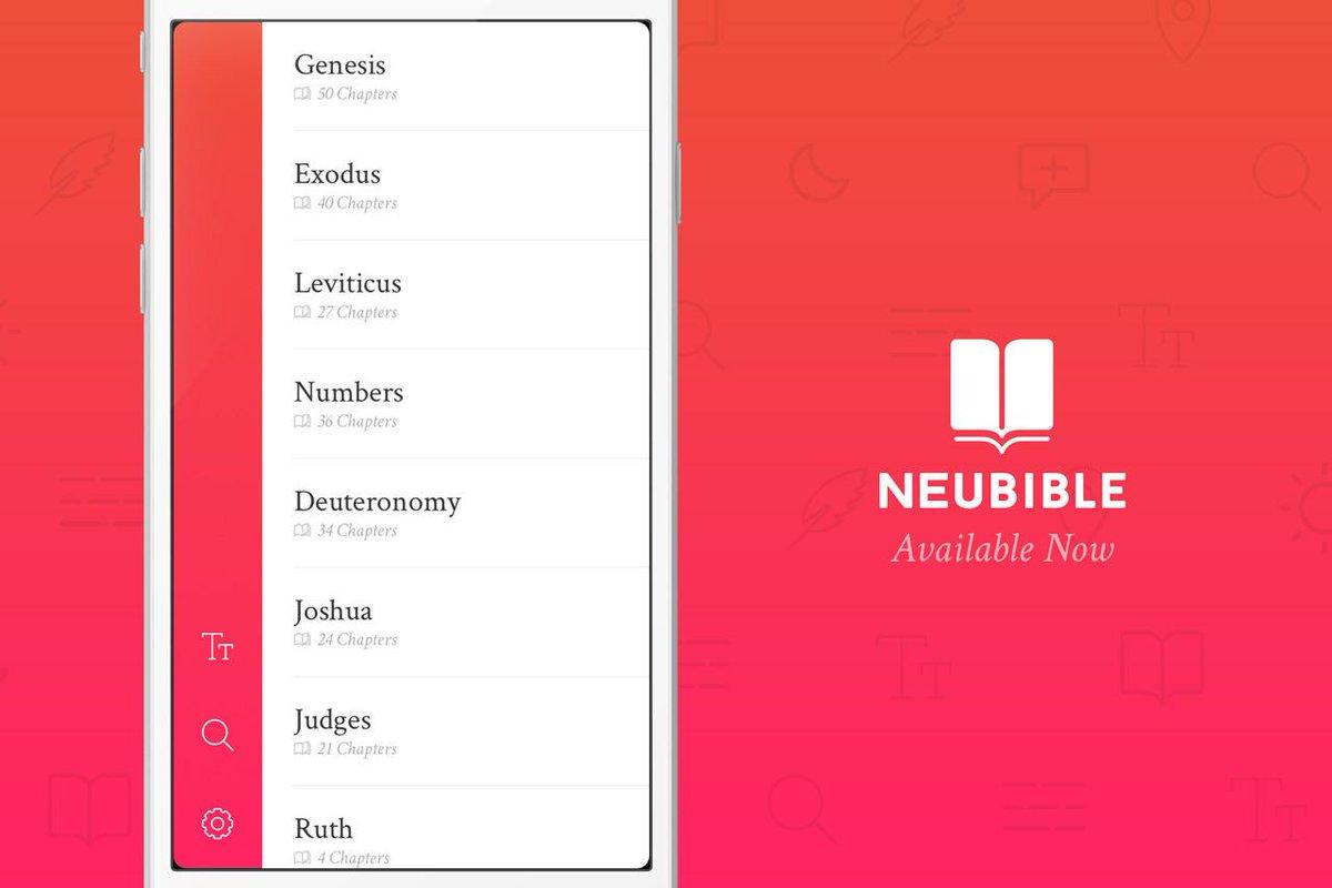 NueBible: A Design Centric iOS Bible App [GIVEAWAY] http://t.co/vST8tWSnxh http://t.co/jZVmE5qeQn