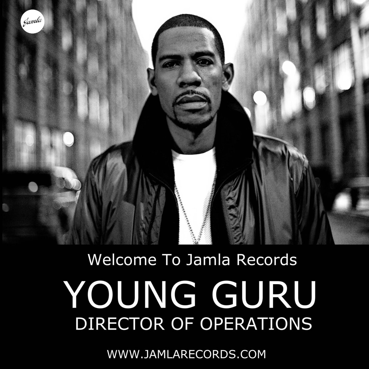 Everyone, welcome our new director of operations: @Young_Guru. Read more at http://t.co/8ofI079JTH! #JamlaIsTheSquad http://t.co/0xphdsbUqy