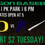 .@OregonBaseball returns to #PKPark tonight to face Portland at 6 pm. #GoDucks http://t.co/ucMLGu56ey http://t.co/zSTeWrQZO4