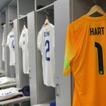 PHOTOS: The players shirts hanging in the @England dressing room. #ITAvENG http://t.co/GHe65r7mAO
