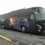 Our #evefanfest long bus. http://t.co/arDqylrZ6O