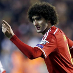Marouane Fellaini has now scored 12 goals in 60 international appearances for Belgium. http://t.co/3o9ZntGBSw