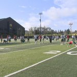 Physical proof that we were let into Oregon spring practice today. Ill be live at 6:30pm tonight on @KEZI9 with more http://t.co/IFTZbXPTDl