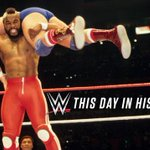 ON THIS DAY: Thirty years ago today, @WrestleMania was born at @TheGarden! http://t.co/9O3tVUNfJH @HulkHogan @MrT http://t.co/1X3WyWUa1W