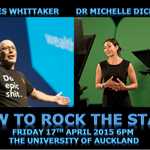 """""""How to rock the stage"""" @docjamesw & @medickinson reveal their public speaking secrets in #Auckland on April 17th! http://t.co/RmsMxbSFU7"""