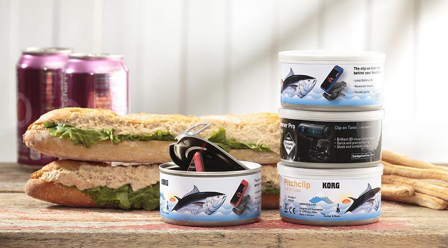 【新製品】コルグは2015年4月1日、「ツナ缶」から着想を得た缶入りギター/ベース・チューナー「チューナー缶」(愛称:チュナ缶)を発表します。 http://t.co/ZZuxYQwdDr #korg #4fooljp http://t.co/ASL6XLL6mL