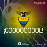 [AMISTOSO] 23 Gooooooooooooooooooooool Miller Bolaños #Ecuador 1 - @Argentina 1. #ECUvsARG ¡Vamos TRI! http://t.co/RZCNmBdPjh