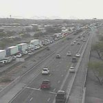 Reminder. I-10 eastbound is CLOSED in #Tucson at Miracle Mile due to crash. EB traffic backed up for miles. http://t.co/mNmq0CXF0p
