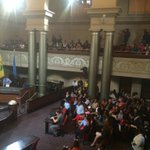 Lots of kids, union members, @RAIDERS fans are present today..#Oakland #oakmtg http://t.co/NdB7R2MeGL