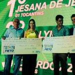 @T1_NOTICIAS levando 2 prêmios do @sistemafieto. Top!  Parabéns pra gente @eduardoazev http://t.co/bx14J3hKWB