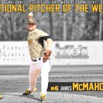 Congrats to @SouthernMissBSBs James McMahon for being named NCBWA National Pitcher of the Week! #SMTTT http://t.co/HOdPE2CE3r