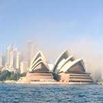 A little bit foggy this morning, but it looks like we are in for a beautiful day! #Sydney #SydneyOperaHouse http://t.co/EAsT2YZ1yz